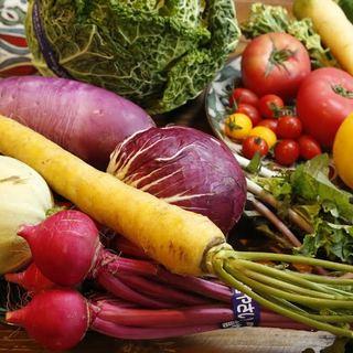 旬の野菜を瞬にお召し上がり下さい。