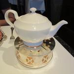 銀座 ハプスブルク・ファイルヒェン - 紅茶 ポットサービス