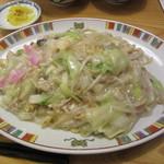 銀座 吉宗 - 皿うどん 太麺 並 960円