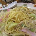 銀座 吉宗 - 皿うどん 麺 アップ