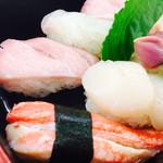 福寿司 - 蟹や大トロがデカいっ!(2016.9)