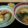 一龍 - 料理写真:ラーメンBセット \500