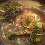 saveur - 鴨肉のオードブル
