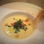 saveur - トウモロコシのスープ