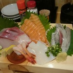寿司居酒屋 や台ずし - 料理写真:刺身の盛り合わせです