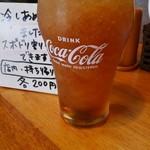 おかもと食堂 - サラサラ氷との黄金比率!