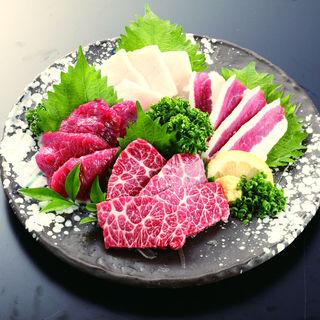 〈熊本名物!〉馬肉料理も自慢☆観光のお食事には最適な品揃え!