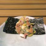 恵比寿 箸庵 - 蛸ぶつ・オクラ・つまみ納豆