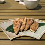 恵比寿 箸庵 - ラクレットきつね焼き