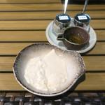 恵比寿 箸庵 - 大豆の甘みが濃厚です!!