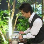 恵比寿 箸庵 - お取り分けタイム