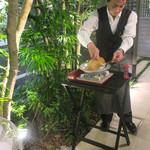 恵比寿 箸庵 - 手作り温豆腐