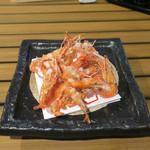 恵比寿 箸庵 - 川海老の唐揚げ