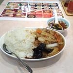 56378513 - 中華丼大盛り全景。