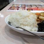 56378517 - 中華丼大盛り飯部分。