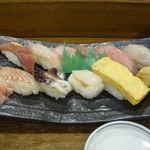 らかん寿司 松月 - 料理写真:地魚にぎり