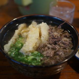 うどん平 - 料理写真:肉ゴボウ