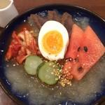 風人月下 - シャリシャリスープの冷麺