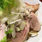 56381659 - チャーシューつけ麺ネギトッピング
