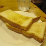 56381825 - ナポリタンのトースト