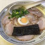 まつばラーメン - チャーシュー麺=500円