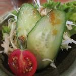 料理酒房勝 - シャキシャキ新鮮野菜