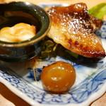 焼鳥 おがわ - 薫製盛り合わせ(チーズ、きんかん、手羽)