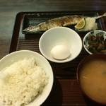 56384242 - 160921東京 居酒屋将軍 本日の焼魚定食650円