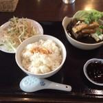 マレーチャン dua - バクテー定食