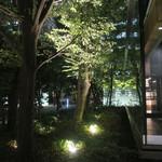 ザ・カフェ by アマン - 東京の大手町に木立ち・・