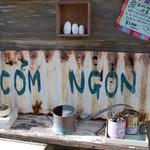 コムゴン - 看板?