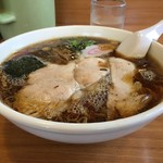 らーめんヒグマ - 正油らーめん(600円)