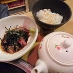 博多青魚 さばさば - 胡麻鯖茶漬けミックス前