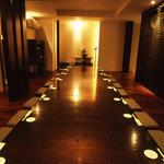 レストラン満奈多 - 一軒屋の一室のような個室。