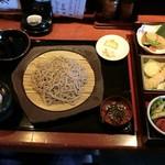水舎 - 「蕎麦御膳」¥1,200税込