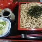 はるな家 - 料理写真:ざるそば(十割)(760円)
