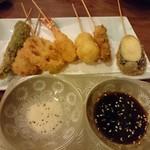 菜々海 - 串揚げ盛り合わせ