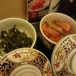 えびのや - 明太子と高菜が食べ放題