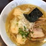 かつみ - 2016年9月 えびワンタン麺白(880円)