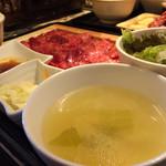 新日本焼肉党 - 山形牛焼肉党定食150g2000円