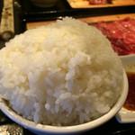 新日本焼肉党 - 山形牛焼肉党定食150g2000円御飯の大盛り