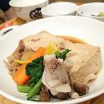 56403174 - 島豆腐と野菜の柚子すき煮