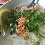 ベトナム食堂 Vina Cafe ・Dalat - ランチ、鶏のフォー。