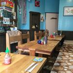 ベトナム食堂 Vina Cafe ・Dalat - 店内様子。