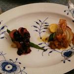 オステリア ポルタロッサ - メイン料理