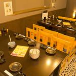 漁師屋 - 新宴会場~離れ~内テーブル席6名席×2席