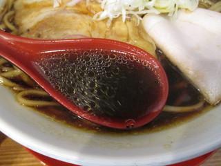 麺匠 中うえ  - 淡麗醤油らーめん 700円