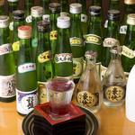 漁師屋 - 全25種類一合飲み切り日本酒