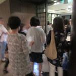 和食 浮橋 - お店を出るときには大混雑