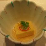 和食 浮橋 - 小鉢(トウモロコシの豆腐仕立て)